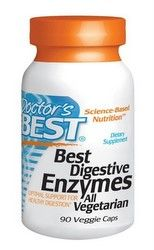 Best Digestive Enzymes (90 Veggie Caps) Doctor's Best