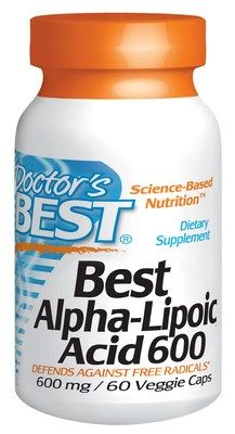 Best Alpha-Lipoic Acid (600 mg - 60 capsules) Doctor's Best