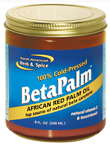African Red Palm Oil BetaPalm (8 fl oz) North American Herb and Spice