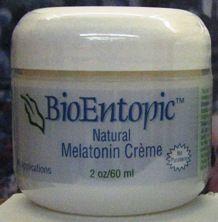 Melatonin Cream ( 2 oz ) BioEntopic