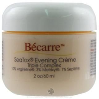 Becarre Seatox Evening Creme Triple Complex with 1% CoQ10 (1.7 oz) BioEntopic