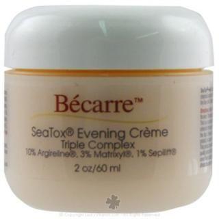 Becarre Seatox Evening Creme Triple Complex with 1% CoQ10 (1.7 oz) BioEntopic