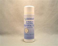 Healing Cucumber Moisturizing Cream with Aloe Vera, Cucumber Extract, 2% MSM and Vitamin C Esters  (8 oz) BioEntopic