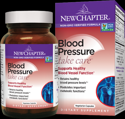 Blood Pressure Take Care (60 vcaps)* New Chapter Nutrition