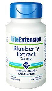 Blueberry Extract (60 vegetarian capsules)* Life Extension