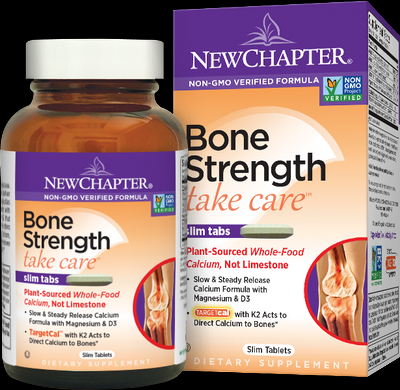 Bone Strength Take Care (180 slim tabs)* New Chapter Nutrition