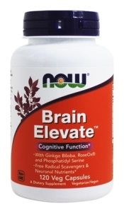 Brain Elevate Formula (120 Vcaps) NOW Foods