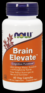 Brain Elevate Formula (60 Vcaps) NOW Foods