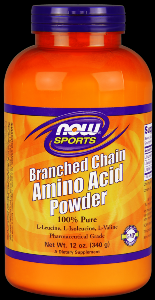 Branched Chain Amino Acid Powder (12 oz.) NOW Foods