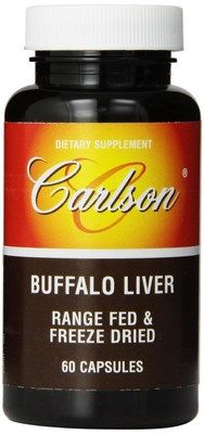 Buffalo Liver (60 capsules) Carlson Labs