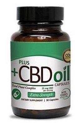 plusCBD Oil Capsules (10mg x 60 capsules)* CV Sciences