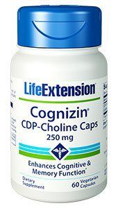 CDP-Choline  (250 mg 60 v-caps)* Life Extension