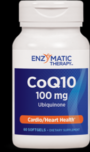 CoQ10 100 mg (120 softgels) Enzymatic Therapy
