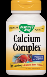 Calcium Complex Bone Formula  ( 100 capsules ) Nature's Way