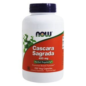 Cascara Sagrada (250 caps 450mg) NOW Foods