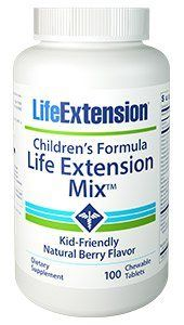 Children's Formula Life Extension Mix (100 chewable tablets)* Life Extension