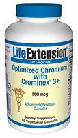 Optimized Chromium With Cromin Ex3+ (500mcg  60vcaps)* Life Extension