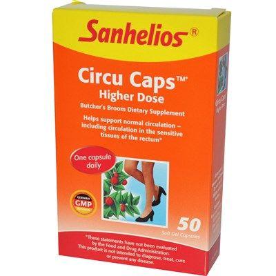 Circu Caps Higher Dose (50 soft gels) Sanhelios