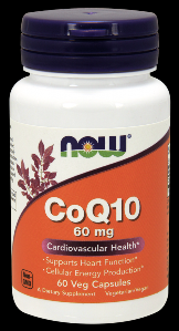 CoQ10 60 mg (60 vcaps) NOW Foods