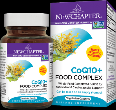 CoQ10 Plus Food Complex (60 vcaps)* New Chapter Nutrition