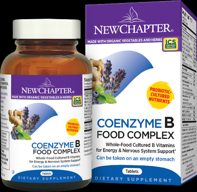 Coenzyme B Food Complex (180 tablets)* New Chapter Nutrition