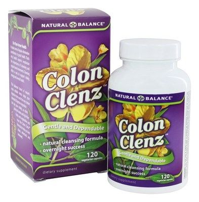 Colon Clenz (120 Vcapsules) Natural Balance