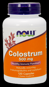 Colostrum (120 Caps 500 mg) NOW Foods
