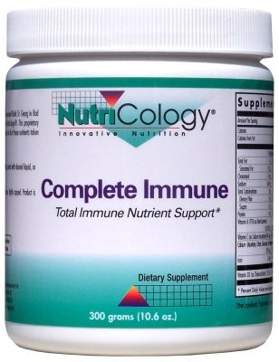 Complete Immune Powder (300 Grams) NutriCology