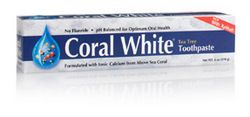 Coral White Toothpaste, Tea Tree (6 oz) Coral LLC. | Coral Calcium