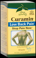 Curamin Low Back Pain (60 capsules) Terry Naturally