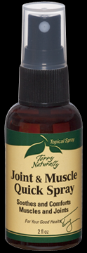 Joint & Muscle Quick Spray (2 oz) Terry Naturally