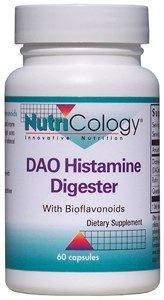 DAO Histamine Digester with Bioflavonoids (60 capsules)* NutriCology