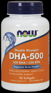 DHA (90 softgels 500 mg) NOW Foods