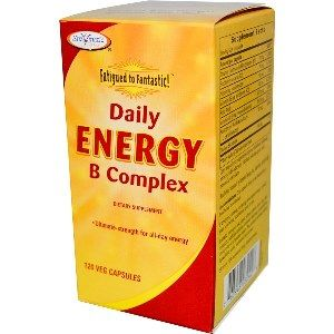 Fatigued to Fantastic! Daily Energy B Complex (120 Softgels) Enzymatic Therapy