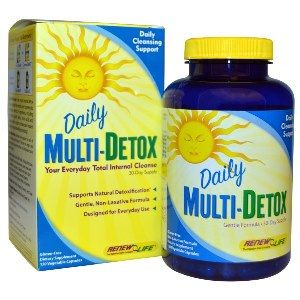 Daily Multi-Detox (120 caps)* Renew Life