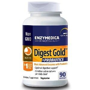 Digest Gold plus Probiotics (90 caps)* EnzyMedica