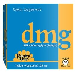 DMG 125 mg (60 tabs)* Country Life