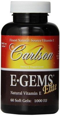 E-Gems Elite (1000 IU 60 soft gels) Carlson Labs