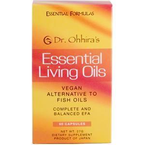 Essential Living Oils (60 capsules) Dr. Ohhira's