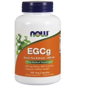 EGCG (180 Vcaps 400 mg) NOW Foods