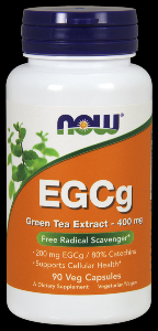 EGCG (90 Vcaps 400 mg) NOW Foods