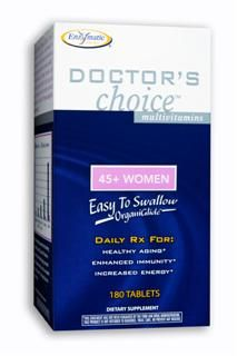 Doctors Choice Women 45 Plus(180 tabs) Enzymatic Therapy