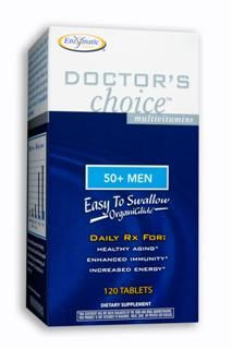 Doctor's Choice Men 50 Plus (120 tabs) Enzymatic Therapy