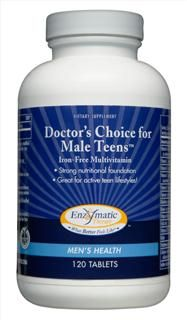 Doctor's Choice Male Teens (120 tabs) Enzymatic Therapy