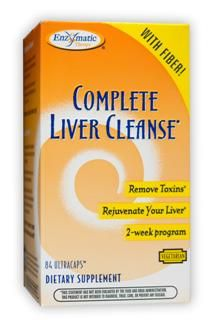 Complete Liver Cleanse (84 Ultracaps) Enzymatic Therapy