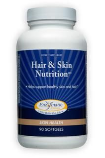 Hair & Skin Nutrition (90 softgels) Enzymatic Therapy