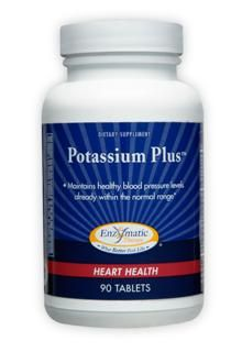 Potassium Plus (90 tabs) Enzymatic Therapy