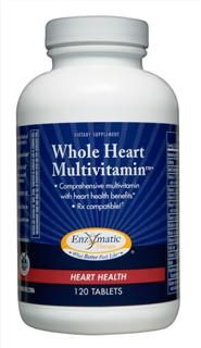 Whole Heart Multivitamin (120 tabs) Enzymatic Therapy