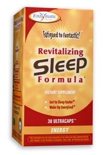 Fatigued to Fantastic! Revitalizing Sleep Formula (trial size 8 Ultracaps) Enzymatic Therapy