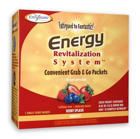 Energy to Go (Berry 7 one-day packets) Enzymatic Therapy